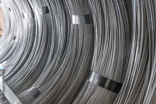 Fotografía  Steel Wire rod - Steel Coils