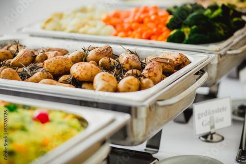 Foto auf AluDibond Bar catering hochzeit
