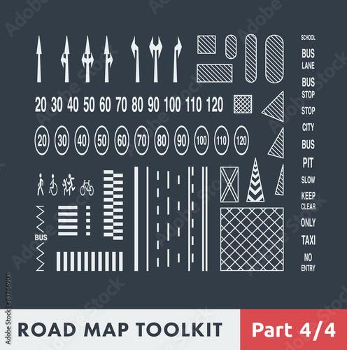 Fotografía  Road Map Toolkit