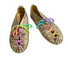 Ladies Fun Silver Shoes