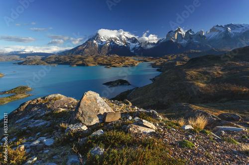 Fotobehang Natuur Park National park Torres del Paine, Patagonia, Chile