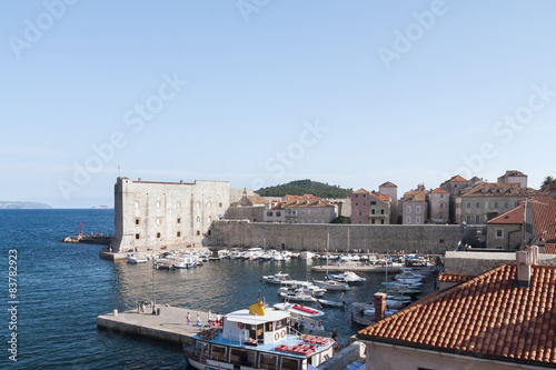 Puerto Viejo de Dubrovnik Poster