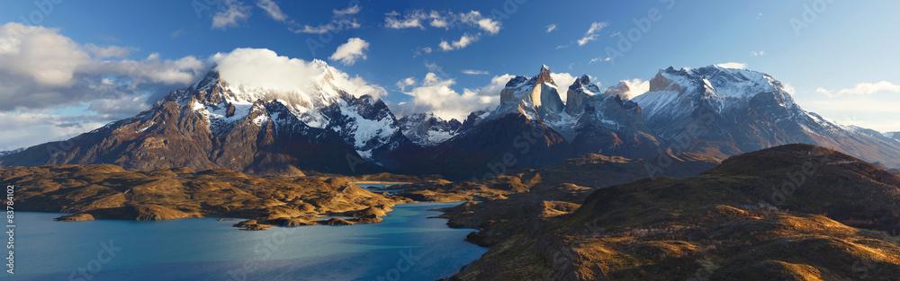 Fototapeta National Park Torres del Paine, Patagonia, Chile