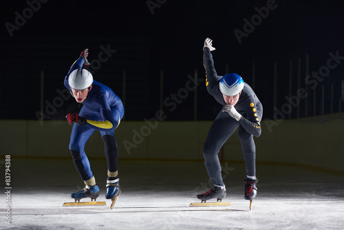 Fotomural  speed skating