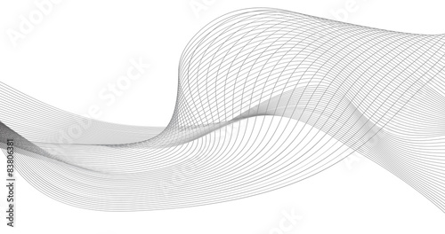 Obraz abstract wave element for design vector illustration - fototapety do salonu