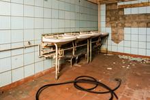 DDR Waschraum Fabrikhalle