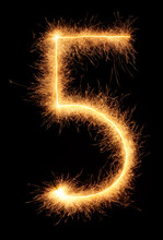 """""""5"""" Number Drawn With Bengali ..."""