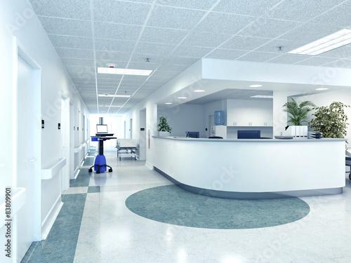 Fotografia  Krankenhaus