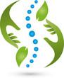 Chiropraktiker, Heilpraktiker, Orthopädie, Logo
