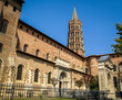 Cathedral in Toulouse, France