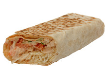 Cut Shawarma Or Tortilla Or Bu...