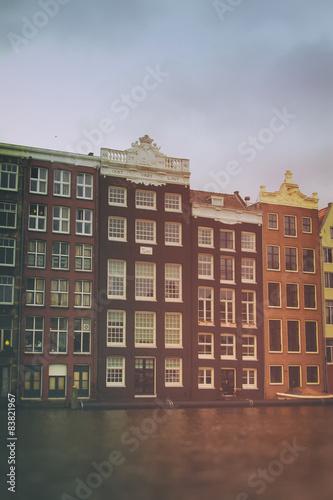 Photo  Amsterdam in summer