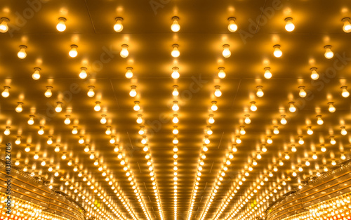 Fototapeta marquee lights