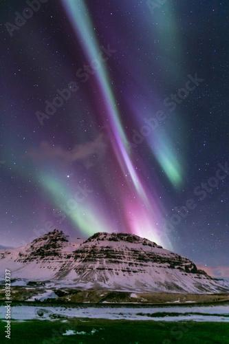 Northern Light Aurora Iceland Poster