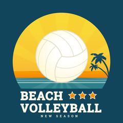 FototapetaBeach volleyball