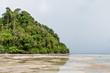 Siamil Tropical island in Borneo, Malaysia.