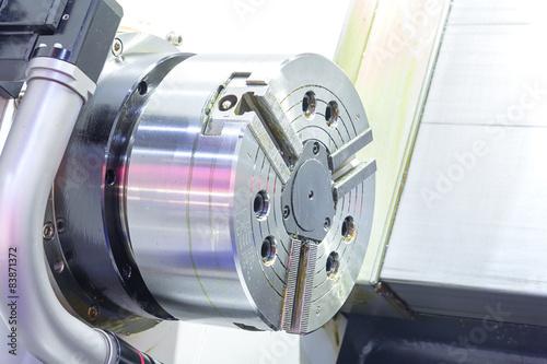 Photo  CNC machine