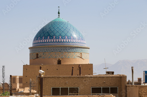 Poster Moyen-Orient Rokn-od din dome in Yazd