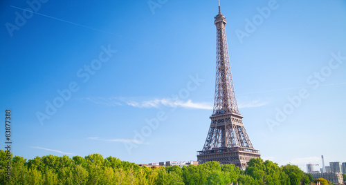 In de dag Parijs Eiffel Tower