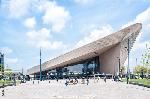 Cadres-photo bureau Rotterdam Centraal Station, Rotterdam, The Netherlands