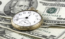 Time And Money Concept Image W...