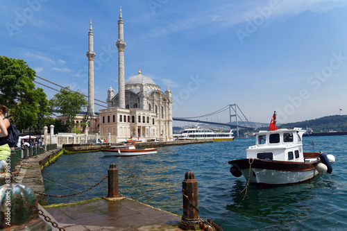 Recess Fitting Turkey Ortakoy Mosque, istanbul