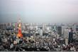 Japan, Tokyo, Tokyo Tower, Landmark, panorama