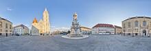 Szentharomsag Square In Castle...