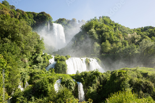 Foto op Canvas Watervallen Cascata delle Marmore