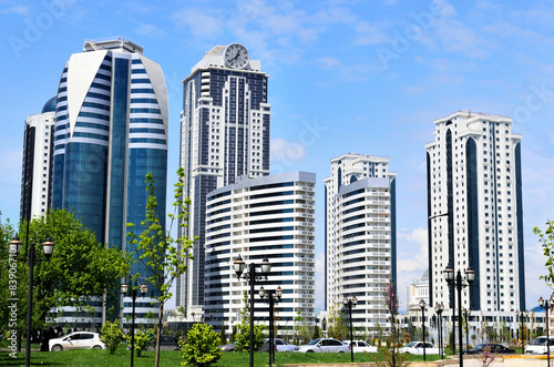 Grozny, the capital of the Chechen Republic