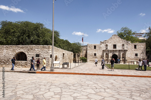 Photo the Alamo, Texas - touristisches Ziel