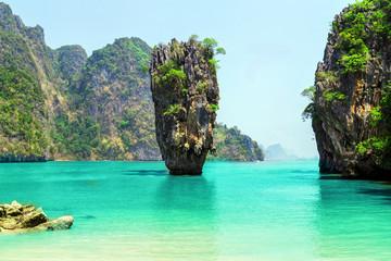 Obraz na SzkleJames Bond Island, Phang Nga, Thailand