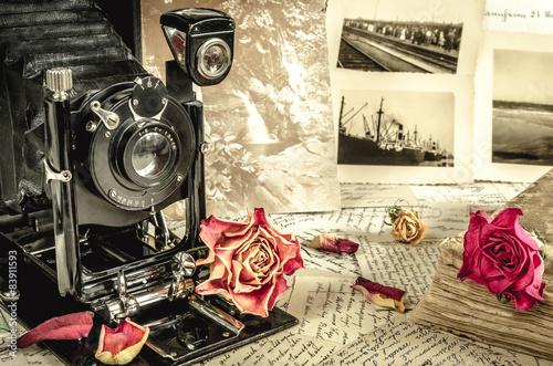 Fotografie, Obraz  Romantické vzpomínky