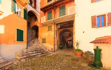 Fototapeta Medieval town