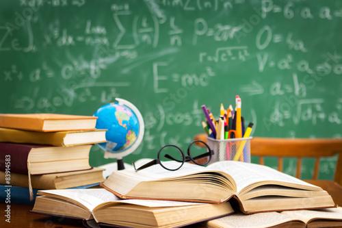 Fotografie, Tablou  desk  during learning