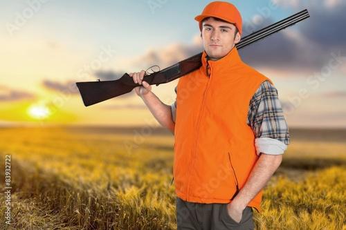 Fototapety, obrazy: Hunter, Hunting, Men.