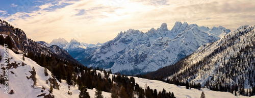Sunrise in the Italian Alps #83956917