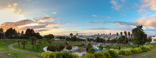Panorama Of Dolores Park.