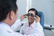 Testing eyesight