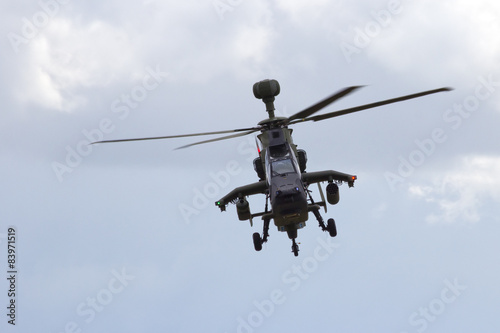 Tuinposter Helicopter European attack helicopter