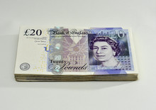 A Grand. £1000 In £20 Notes