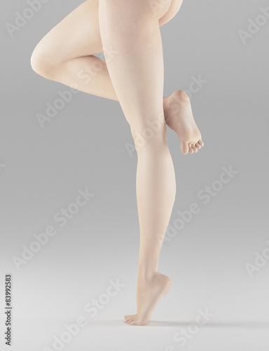 Photo  Gambe donna nude punta di piedi