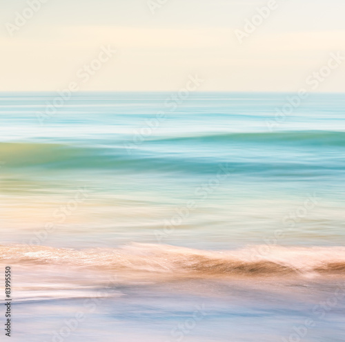 Spoed Foto op Canvas Water Ocean Wave Motion