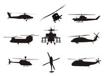 Helikopter - Kampfhubschrauber - Rettung