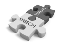 Speech Therapy Concept For Tre...