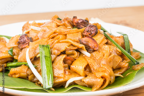 Photo  No frills simple Chinese Char Kway Teow or Fried Noodle