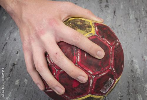 Plakat piłka ręczna