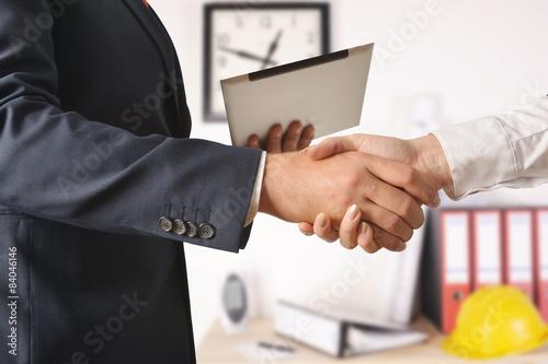 Handshake Wallpaper Mural