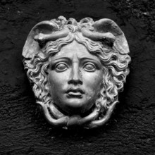 Greek / Roman Woman Face On A ...