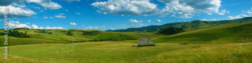 Poster Heuvel Panoramic view of Zlatibor mountain